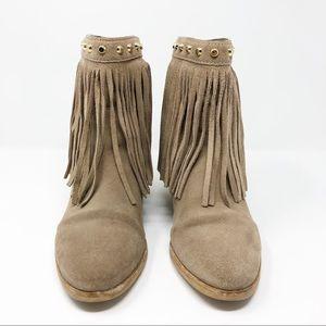 Michael Kors Shoes - Michael Kors Billy Fringe Ankle Boots